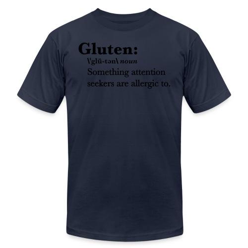 Gluten def - Unisex Jersey T-Shirt by Bella + Canvas