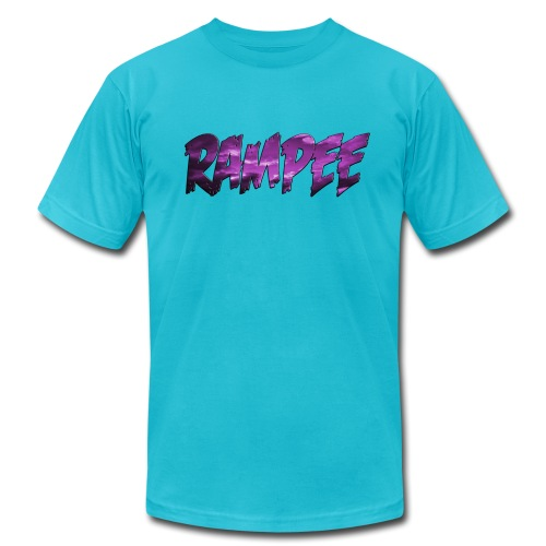 Purple Cloud Rampee - Unisex Jersey T-Shirt by Bella + Canvas