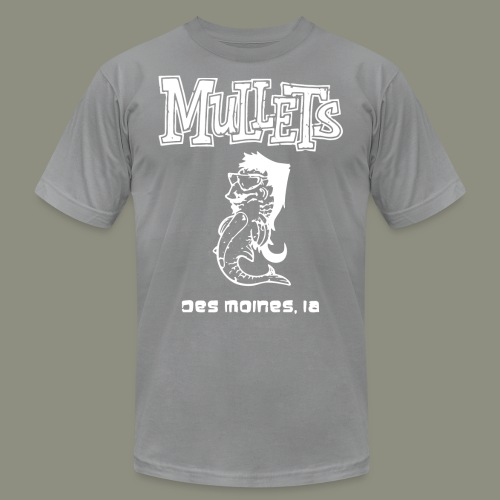 mulletmain white - Men's Jersey T-Shirt