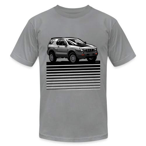 VX SUV Lines - Unisex Jersey T-Shirt by Bella + Canvas