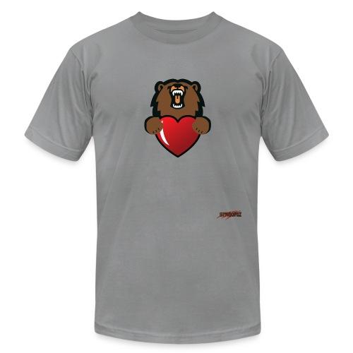 grizlove no - Unisex Jersey T-Shirt by Bella + Canvas