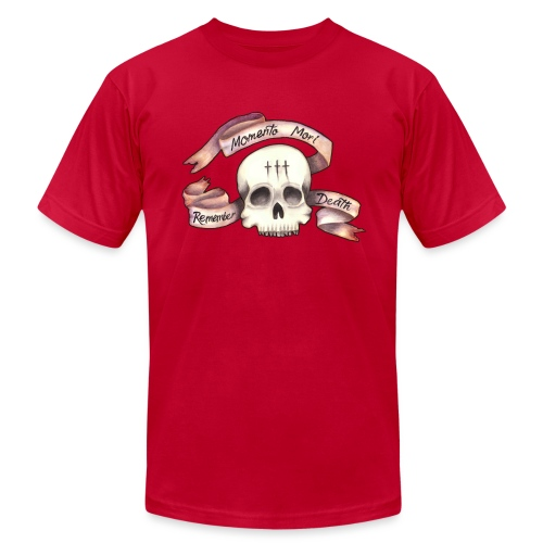 Momento Mori - Remember Death - Unisex Jersey T-Shirt by Bella + Canvas