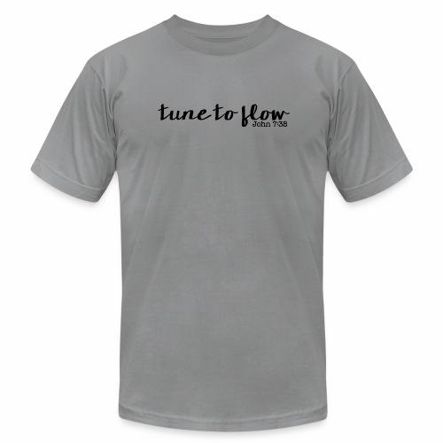 Tune to Flow - Design 1 - Unisex Jersey T-Shirt by Bella + Canvas