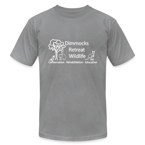Dimmocks Retreat Wildlife Logo Apparel - Unisex Jersey T-Shirt by Bella + Canvas