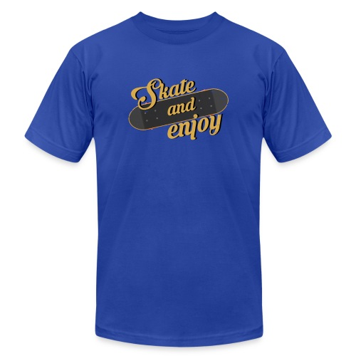 Skate And Enjoy - Unisex Jersey T-Shirt by Bella + Canvas