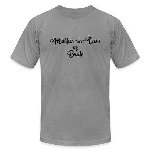 motherinlawofbride - Unisex Jersey T-Shirt by Bella + Canvas