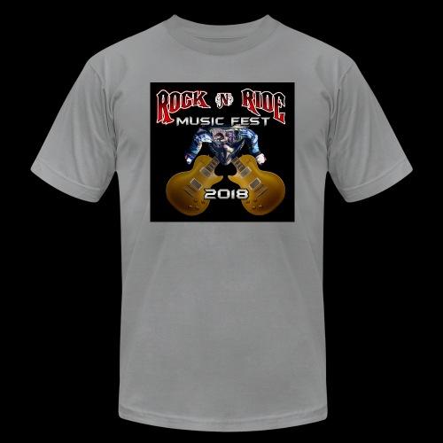 RocknRide Design - Unisex Jersey T-Shirt by Bella + Canvas