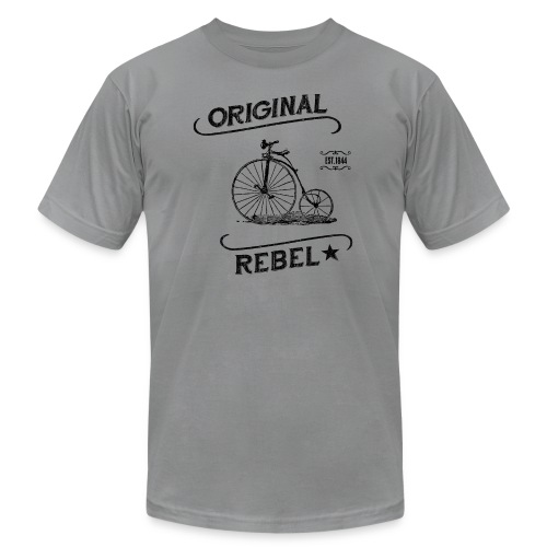 Original Rebel Black - Unisex Jersey T-Shirt by Bella + Canvas