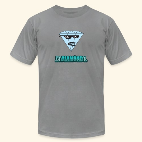 Txdiamondx Diamond Guy Logo - Unisex Jersey T-Shirt by Bella + Canvas