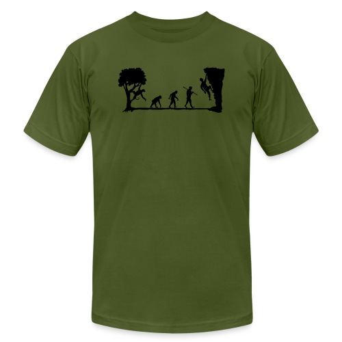 Apes Climb - Unisex Jersey T-Shirt by Bella + Canvas