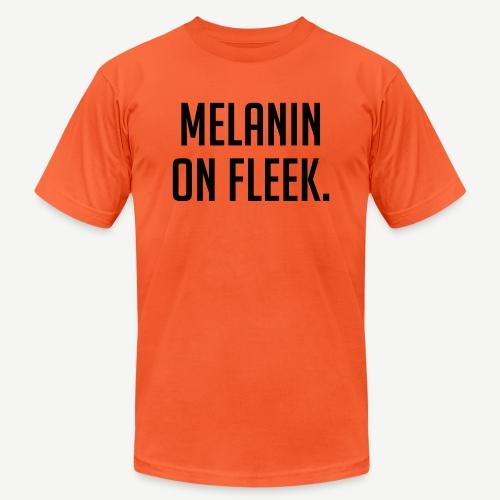 Melanin On Fleek - Unisex Jersey T-Shirt by Bella + Canvas