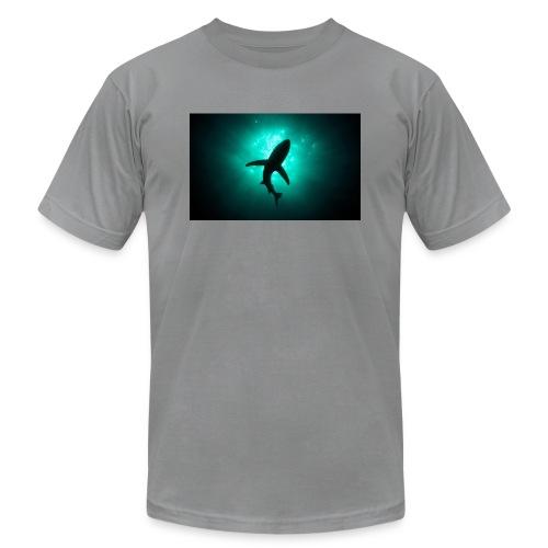 Shark in the abbis - Men's  Jersey T-Shirt