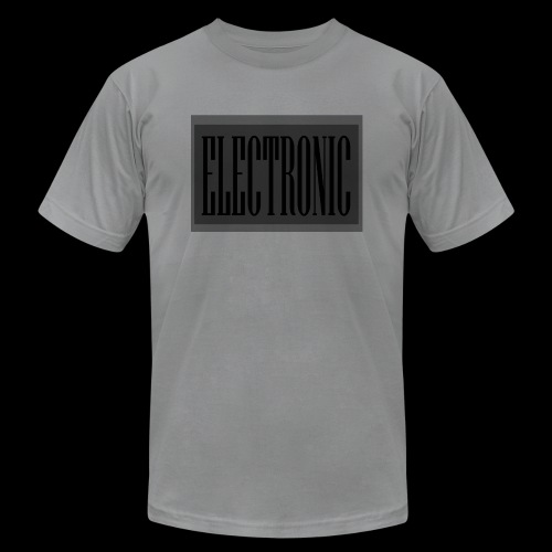 Electronic Logo - Unisex Jersey T-Shirt by Bella + Canvas