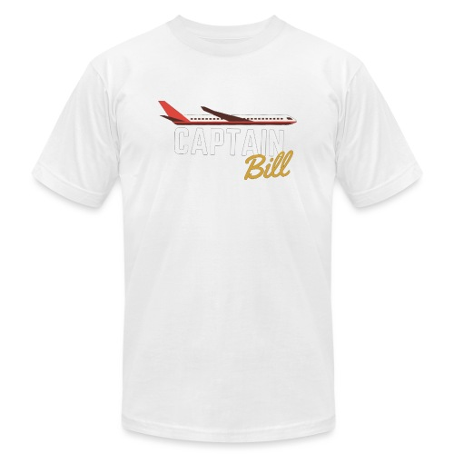 Captain Bill Avaition products - Men's Jersey T-Shirt