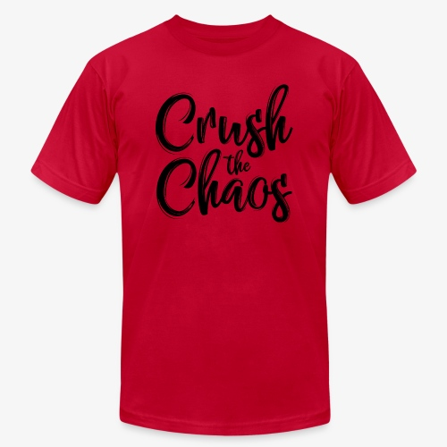 Crush the Chaos - Unisex Jersey T-Shirt by Bella + Canvas