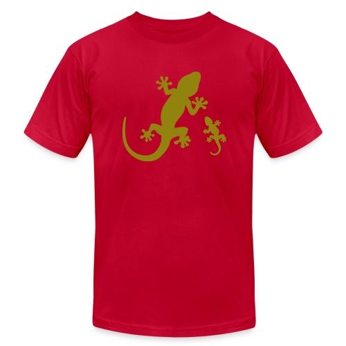 Geckos - Unisex Jersey T-Shirt by Bella + Canvas