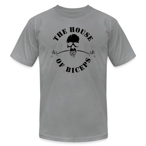 SMALL_HOB_LOGO - Unisex Jersey T-Shirt by Bella + Canvas