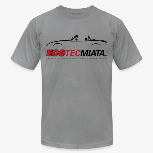 Ecotec Miata Logo - Unisex Jersey T-Shirt by Bella + Canvas
