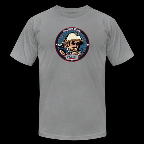 Spaceboy - Space Cadet Badge - Unisex Jersey T-Shirt by Bella + Canvas