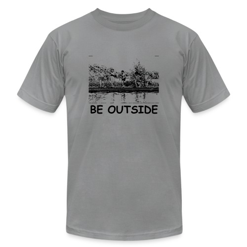 Be Outside - Unisex Jersey T-Shirt by Bella + Canvas