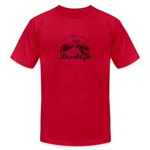 001 Brooklyn AllRoadsLeeadsTo - Unisex Jersey T-Shirt by Bella + Canvas
