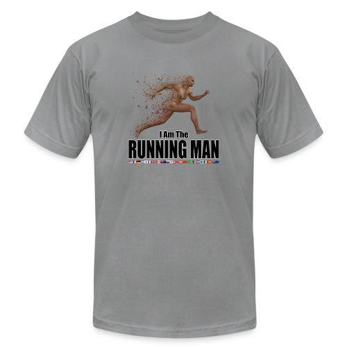 I am the Running Man - Cool Sportswear - Unisex Jersey T-Shirt by Bella + Canvas