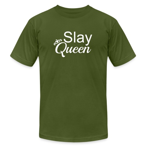 Slay My Queens - White Text - Men's  Jersey T-Shirt