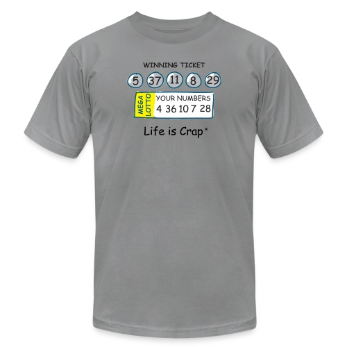 lic670 lotto b - Unisex Jersey T-Shirt by Bella + Canvas