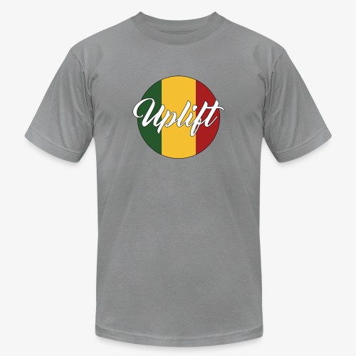 Uplift Rasta Basic // - Unisex Jersey T-Shirt by Bella + Canvas