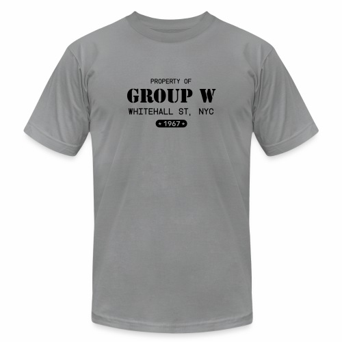 Property of Group W - Unisex Jersey T-Shirt by Bella + Canvas