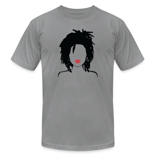 Locs & Lipstick_Global Couture Women's T-Shirts - Unisex Jersey T-Shirt by Bella + Canvas