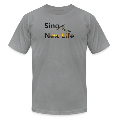 Sing in Brown - Men's  Jersey T-Shirt