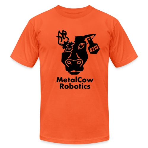 MetalCow Solid - Unisex Jersey T-Shirt by Bella + Canvas