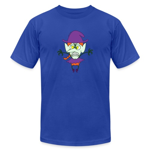 Scary Halloween Witch - Unisex Jersey T-Shirt by Bella + Canvas