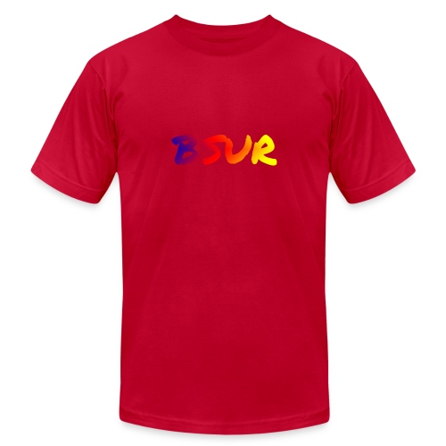 BSUR colorful - Unisex Jersey T-Shirt by Bella + Canvas