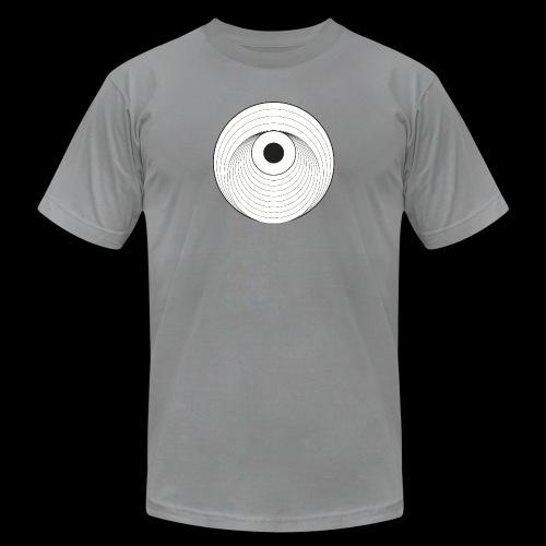 Black Dirt Vortex Logo Light - Unisex Jersey T-Shirt by Bella + Canvas