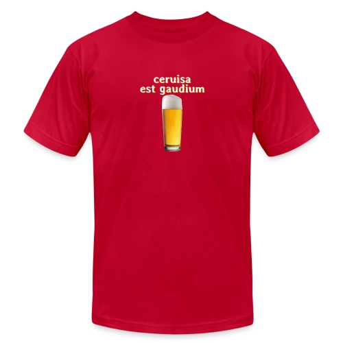 beer is joy - Unisex Jersey T-Shirt by Bella + Canvas