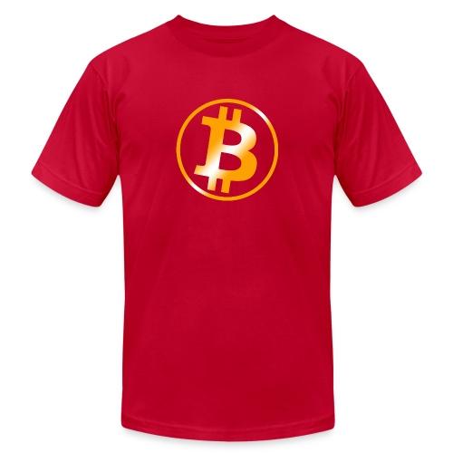 Bitcoin - Unisex Jersey T-Shirt by Bella + Canvas