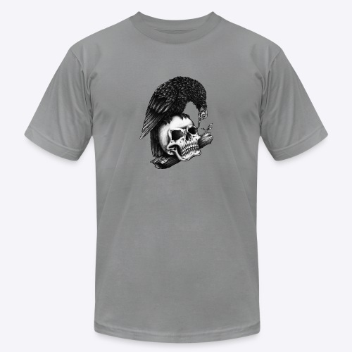 Skull Crow - Unisex Jersey T-Shirt by Bella + Canvas