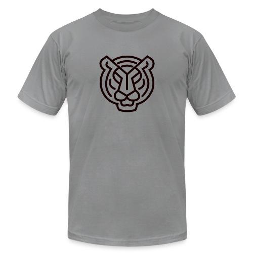 Tiger head logo - Unisex Jersey T-Shirt by Bella + Canvas