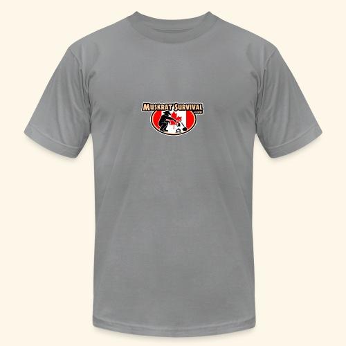 Muskrat Badge 2020 - Unisex Jersey T-Shirt by Bella + Canvas