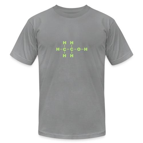 Alcohol Molecule - Unisex Jersey T-Shirt by Bella + Canvas