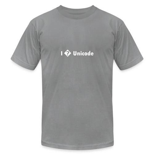 I � Unicode - Unisex Jersey T-Shirt by Bella + Canvas