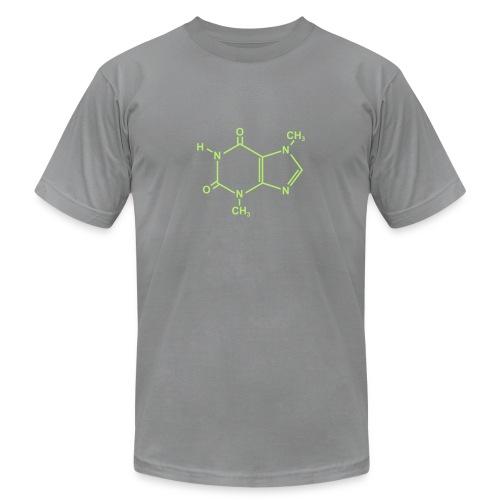 Chocolate (Theobromine) Molecule - Unisex Jersey T-Shirt by Bella + Canvas