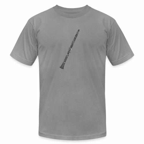 Clarinet Boehm Design - Unisex Jersey T-Shirt by Bella + Canvas