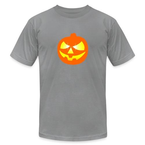 halloween pumpkin - Unisex Jersey T-Shirt by Bella + Canvas