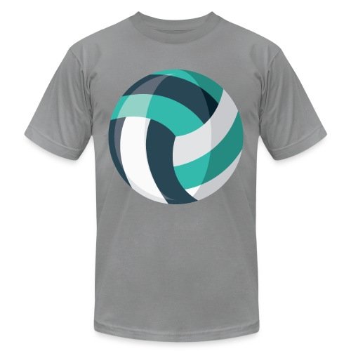 Volleyball - Unisex Jersey T-Shirt by Bella + Canvas