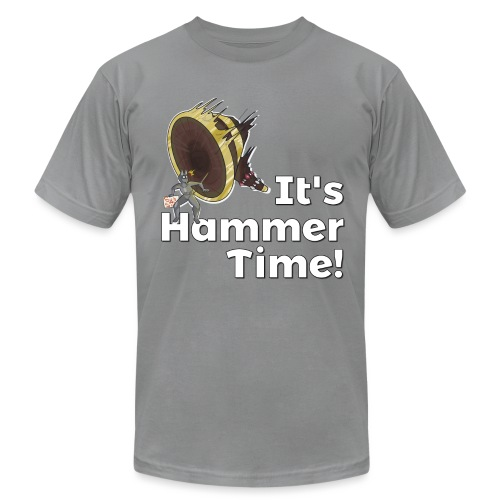 It's Hammer Time - Ban Hammer Variant - Unisex Jersey T-Shirt by Bella + Canvas