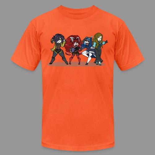 Chibi Autoscorers - Unisex Jersey T-Shirt by Bella + Canvas