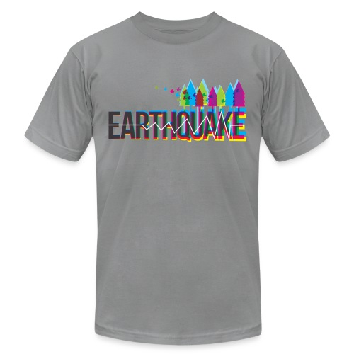 Earthquake - Unisex Jersey T-Shirt by Bella + Canvas
